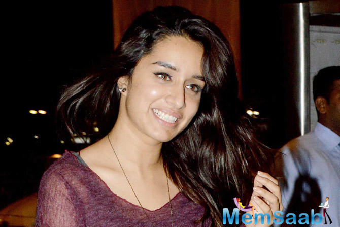Shraddha Kapoor, who is busy shooting for her next