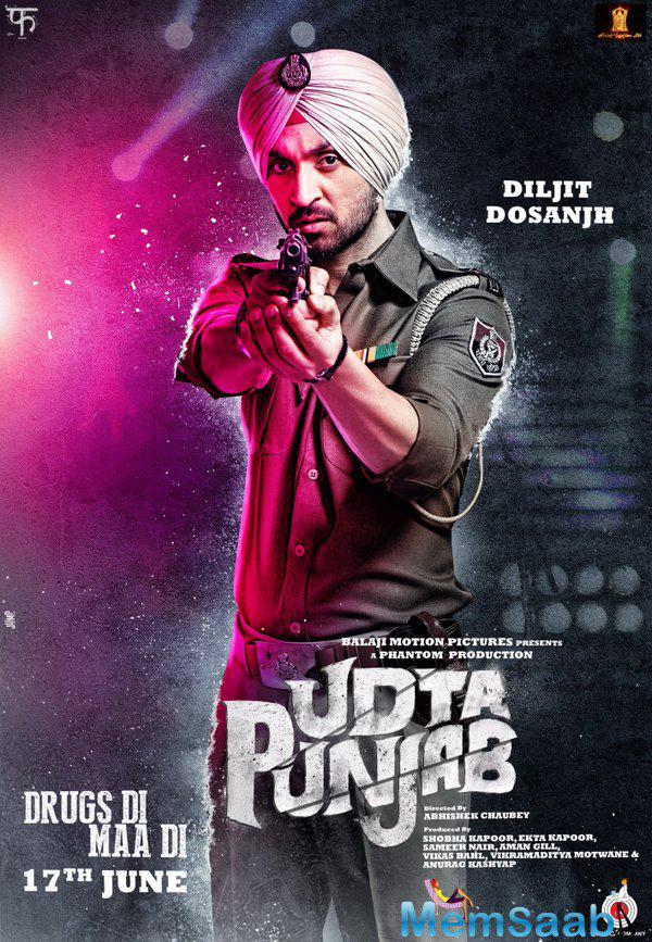 Abhishek Chaubey's directed film Udta Punjab's trailer will be out on April 16 while the film releases on June 17.