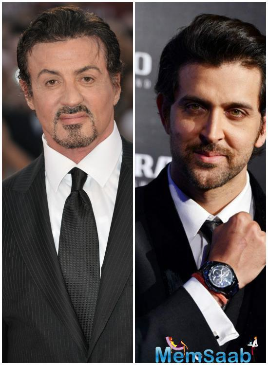 Hrithik Roshan says living Hollywood legend Sylvester Stallone is his inspiration and the Bollywood actor will only meet him as a