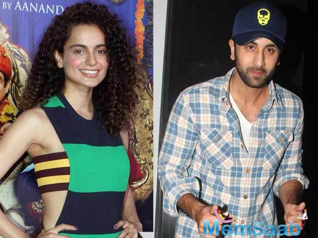 According to the sources, Kangana and Ranbir, who recently broke up their past relationship, are frequently in touch via texts and calls.