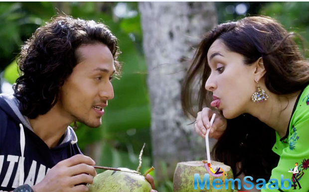 After mesmerizing audiences with 'Sab Tera' song and 'Cham Cham', comes yet another soothing song from Shraddha and Tiger starrer from the film'Baaghi'.