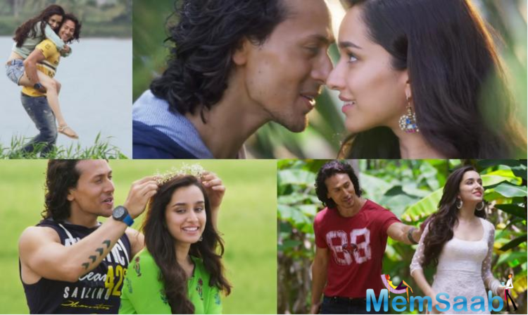 The new romantic song  from Shraddha and Tiger will surely become every music lovers jam as Arijit Singh captivates with his voice.