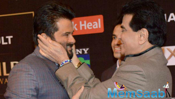 Jeetendra and Anil Kapoor will receive the Raj Kapoor Awards on April 30 in Mumbai
