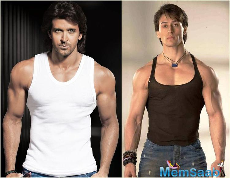 Tiger confessed that he got inspiration from Hrithik's dance and tried to adapt his style in many of his movements.