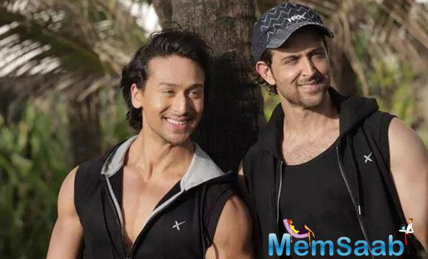 Tiger Shroff  is often compared with Hrithik for his dancing style and his looks and many of the things they do alike.