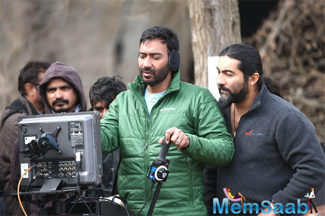 Ajay Devgn has been in Bulgaria recently, for his ambitious directorial venture Shivaay. Here we have put some brave story about action star Aay Devgn