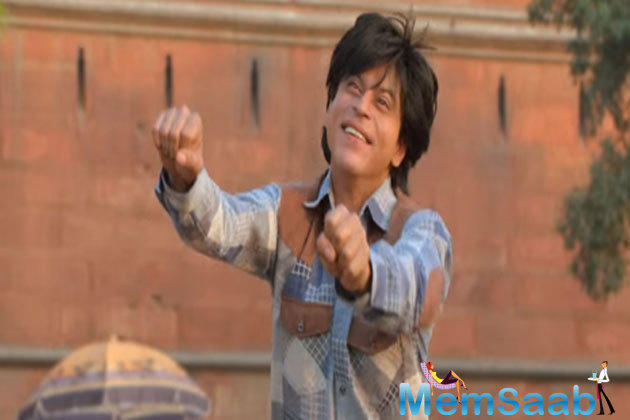 SRK receives a dual role in Fan, appearing as an obsessive fan and a star.