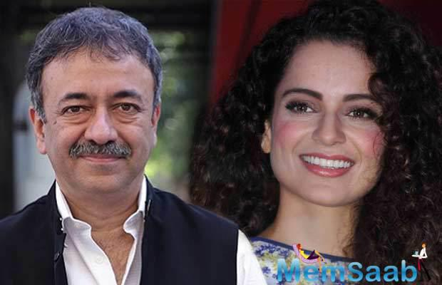 Kangana Ranaut may not be part of Rajkumar Hirani's upcoming Sanjay Dutt biopic but the actress says she is in talks with the director for another project in which she will play a comedian.