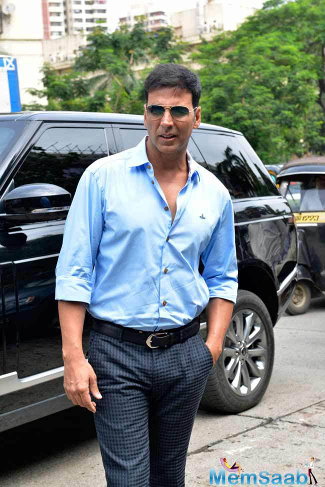 Akshay Kumar has donated 50 lacs towards 'Jalyukt Shivar Abhiyaan', the initiative of Maharashtra Government, which is proposing to produce drought-proof villages by using water harvesting techniques and building ponds.