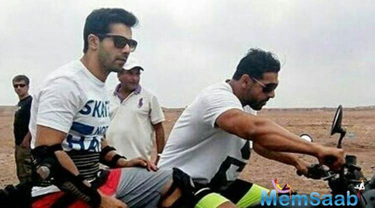 The 28-year-old  star, who faced many injuries during the shoot  of the film 'Dishoom', also revealed that he even passed out while shooting one stunt.