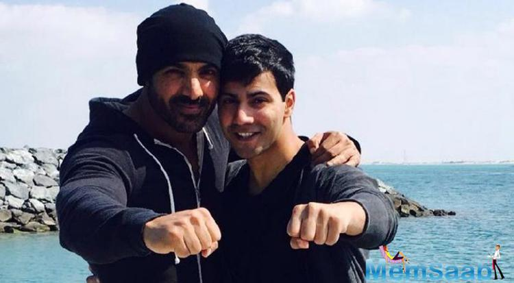 Varun share his thought I am actually very thankful to have a co-actor like John because when you are doing action and when you are risking your life for these things you need someone who has your back.