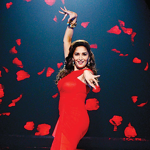 Madhuri also considers  herself lucky to have supportive parents and now husband  on the base of dance . And she is connecting with dance since she was three