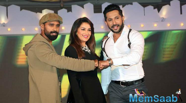 Madhuri will soon be seen along with choreographers Terrence Lewis and Bosco Martis, on the reality show So You Think You Can Dance - Ab India Ki Baari.