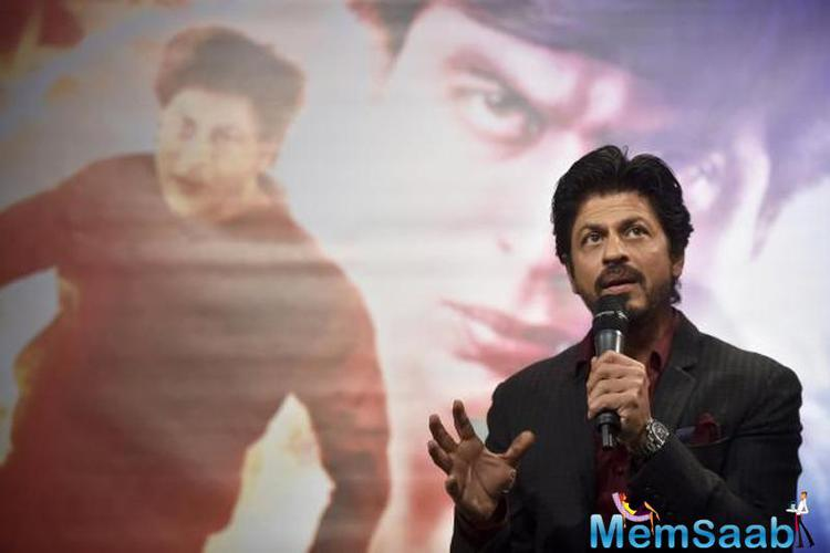 He revealed that, Aryan Khanna's role was more difficult to play. And he is also planning to celebrate Fan's success.