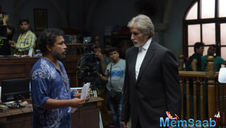 Big B  even took to his Twitter handle to post a snap of his character from the movie and wrote alongside,