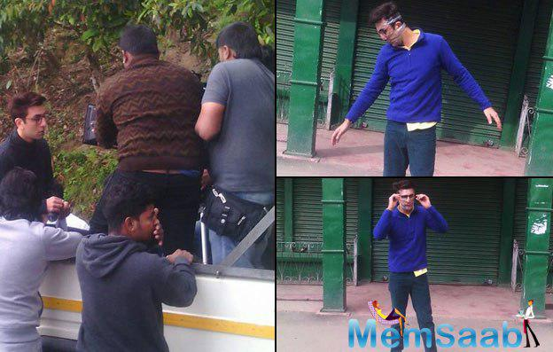 Ranbir Kapoor with his director Anurag Basu back in Darjeeling to shoot Jagga Jasoos