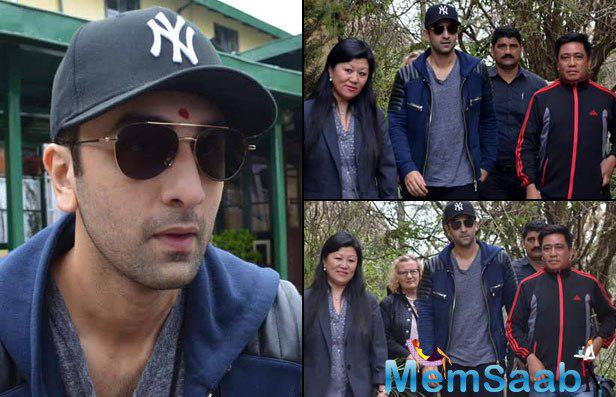 Ranbir took off to Darjeeling to shoot for his next schedule, where Katrina Kaif is seen missing.