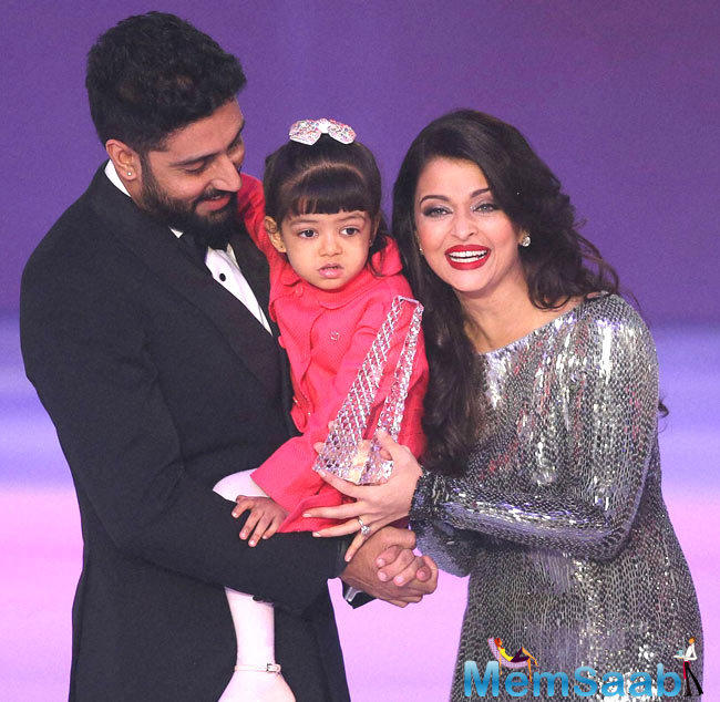 Jr.Bachchan has been married to actress Aishwarya Rai and they have a daughter named Aaradhya born on 16 November in the year 2011.