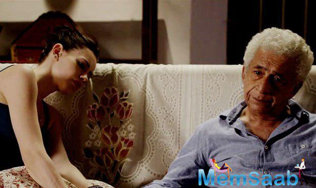 Waiting' looks beautiful in the way it deals with relationship between Naseeruddin and Kalki who bump into each other suddenly in a hospital while taking care of their spouses.