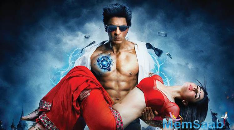 "Its directed by Anubhav Sinha, ""Ra.One"" featured Shah Rukh Khan as scientist Shekhar Subramanium and humanoid robot G.One."