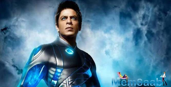 Shah Rukh words I would like to give another shot at 'Ra.One'. I hope I am not too old to do it because I thought as a team it was a step forward in film making.