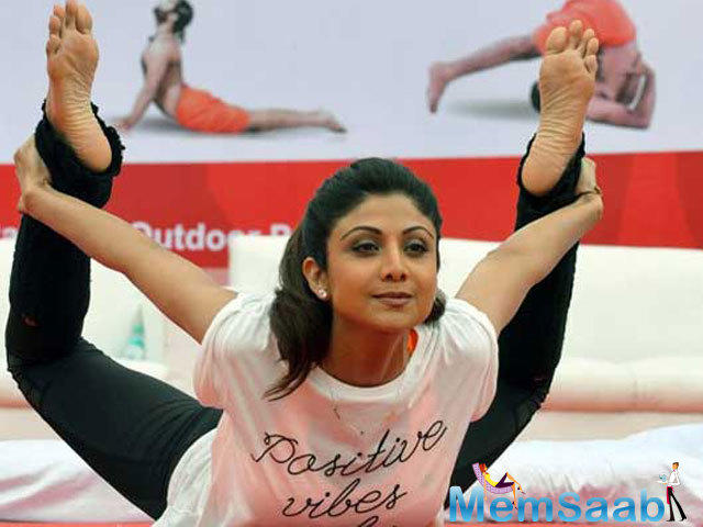 Shilpa Shetty is a fitness enthusiast. To disseminate awareness about the importance of staying fit, the actor has released DVDs on yoga and has likewise penned a book on healthy feeding.