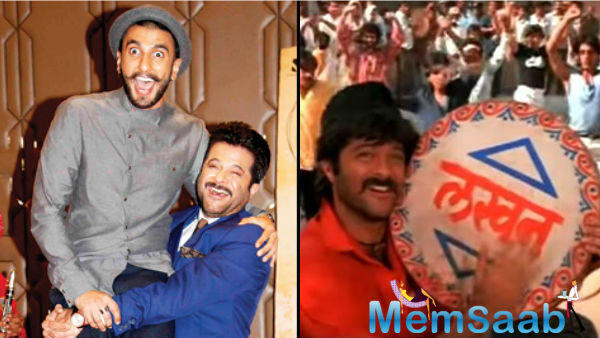 Reportedly,  Ranveer was the first choice for Lakhan character, which played by Anil Kapoor.  Last year,  Anil Kapoor had said that Ranveer was perfect for the role.