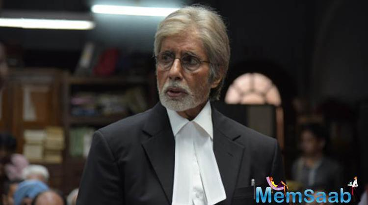 For Amitabh Bachchan, things are not so rosy on the sets of Pink