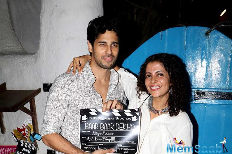 Baar Baar Dekho is an upcoming romantic drama movie directed by Nitya Mehra which marks her debut in Hindi cinema, It also features Sidharth Malhotra opposite Katrina Kaif.