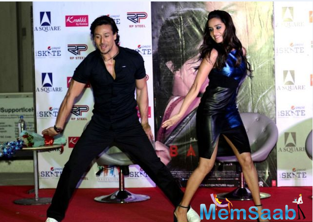 Tiger Shroff and Shraddha showed off their superb dance moves while promoting their action flick.