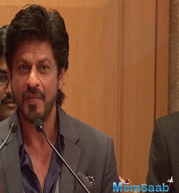 Indian film industry also stands for 'Make In India' since with our films, we were using up our culture, music across borders and spreading the tidings for what India stands for, SRK had said in November last year.
