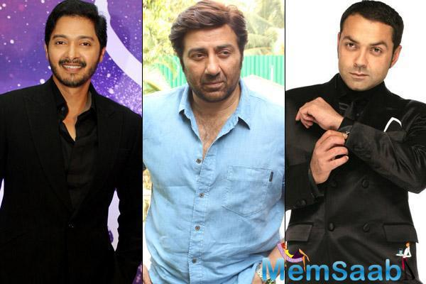 His debut film will be a remake of a Marathi film Poshter Boyz which was produced by Shreyas.