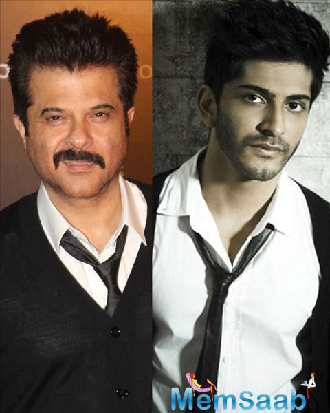 Anil Kapoor is also excited about his son Harshvardhan's acting debut with Mirzya.