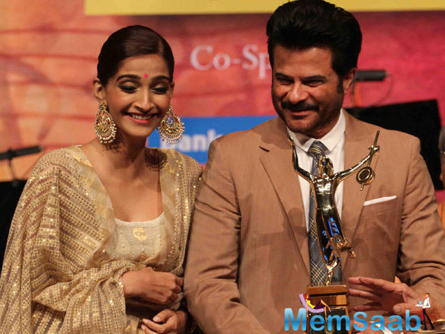 Sonam Kapoor played the titular role in Neerja. Anil Kapoor said he was happy with the trend of making biopics in Bollywood.