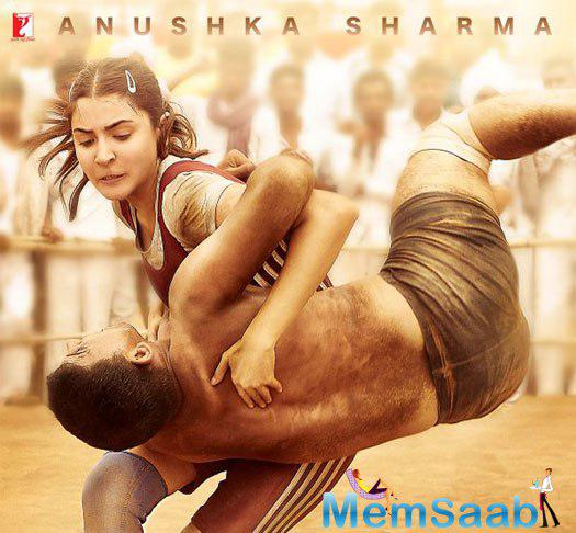 After Salman, check out the wrestler avatar of Anushka Sharma of the much awaited biographical sports drama Sultan.