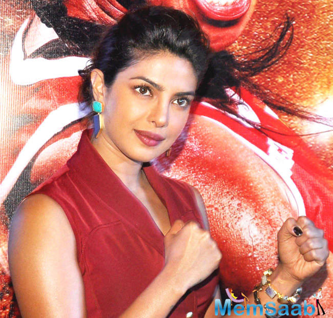 Priyanka Chopra who was present at the Time 100 Gala, revealed  feels, fully embraced her inner bad girl playing a villain in her upcoming Hollywood debut 'Baywatch.'
