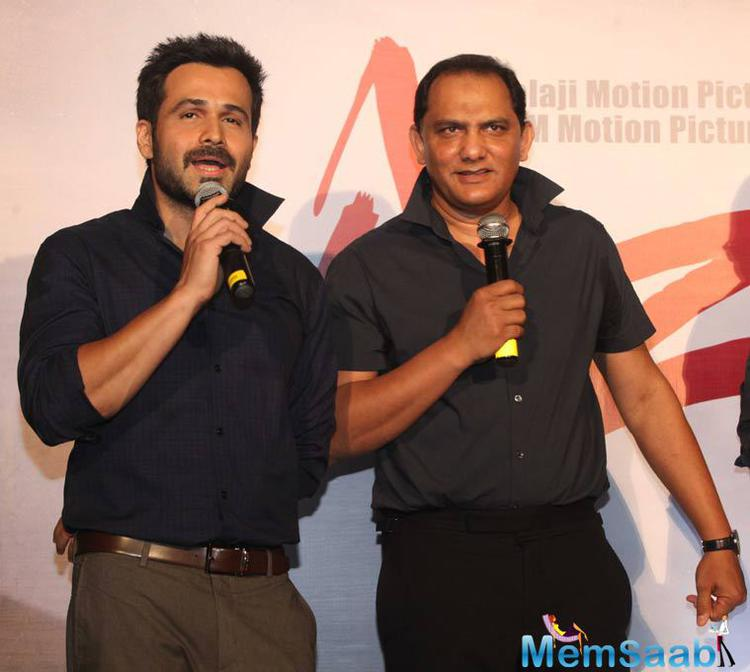 Azhar stars Emraan in the titular role and it also features Prachi Desai and Lara Dutta.
