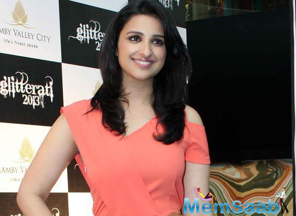 "Parineeti Chopra said today, many people ask me what triggered the weight loss, did I give into the ""Bollywood pressure""?"