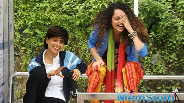Kangana is jubilant about winning her third National Award. She had been chosen as the Best Actress (Queen, 2014) and the Best Supporting Actress for her performance in Fashion in 2010.