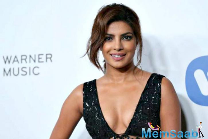 Priyanka  was last attended in the Bollywood film Jai Gangaajal as a brave cop. It was theorized that she has distanced from B-town due to her packed schedule in Hollywood.