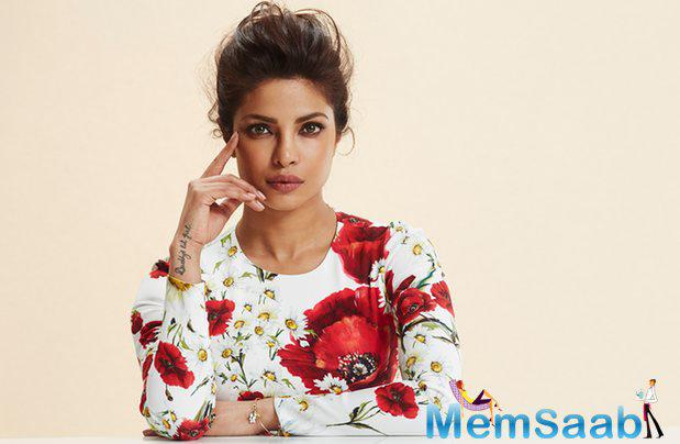 In a recent interview, Priyanka said, 'Hindi films are in my blood and my soul, I can never be distanced from them.