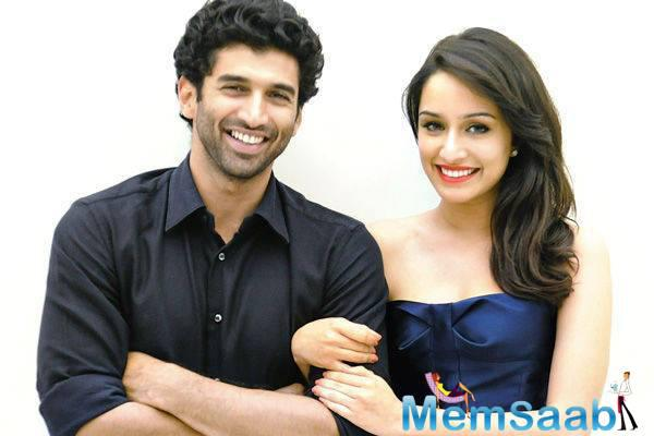 """These days she is busy shooting for her upcoming movie """"Ok Jaanu"""" opposite Aditya Roy Kapur"""