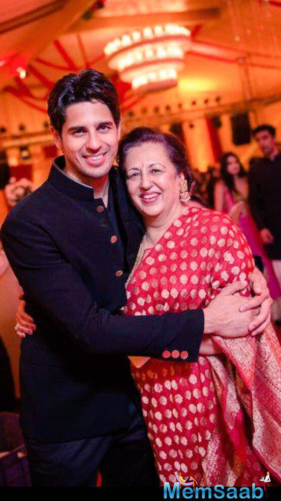 "Rising star of Bollywood Sidharth Malhotra, ""Men are what their mothers made them."