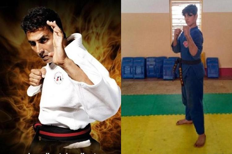 Yesterday was Mothers Day, There was no better way to make Mother's Day a special occasion for Twinkle Khanna than her son Aarav is getting his first degree black belt in Kudo, a japanese martial art sport.