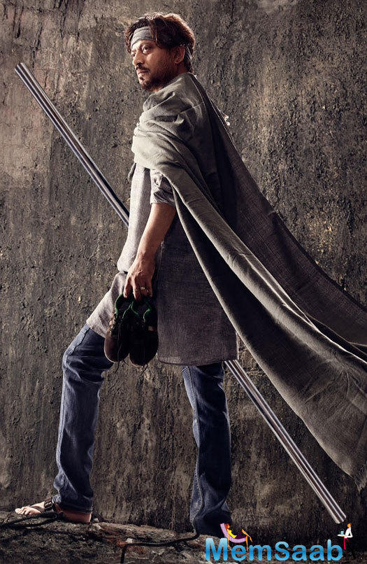 Take a look the first look of the upcoming flick Madaari featuring Irrfan Khan