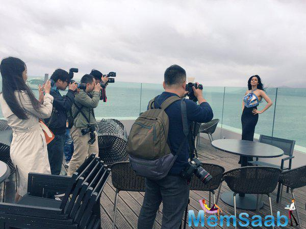 Mallika, a regular presence at Cannes, is representing her new flick, Time Raiders, this yr. Earlier the official opening of the film festival, she gathered the press wearing Pucci
