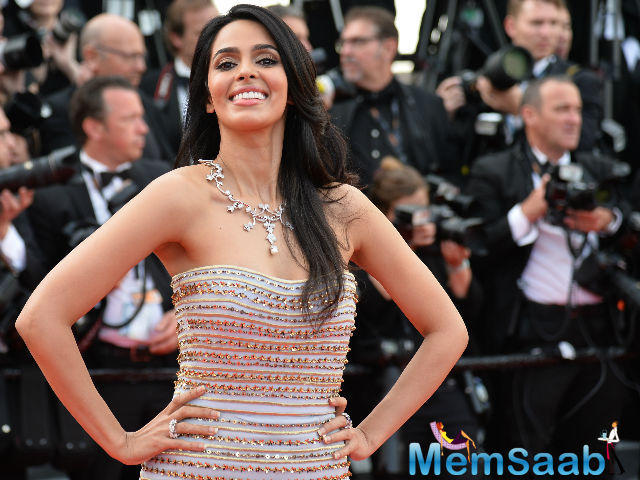 Mallika Sherawat did good on the red carpet with a Georges Hobeika dress at the opening day of cannes film festival
