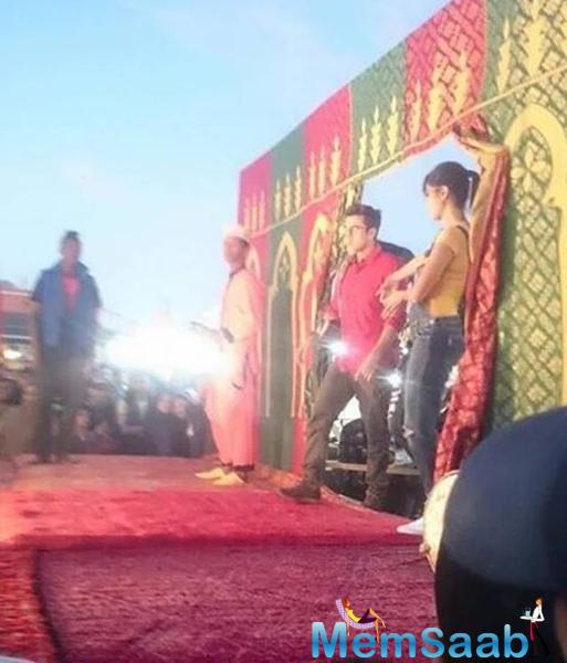 Finally Ranbir Kapoor and Katrina Kaif are back together for a song, they are just shooting for the last schedule of their next cinematic biggie – Jagga Jasoos – in Morocco.