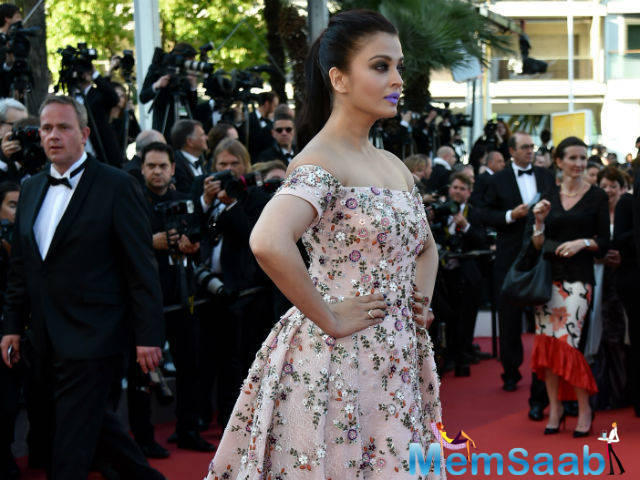 This was Aishwarya's 15th year at the Cannes Film Festival and her new film Sarbjit premiered at the film festival