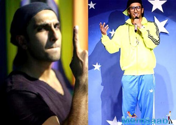 Ranveer Singh has donned the avatar of a rapper for a TV commercial earlier, and a news on the air that he will be acting as a rapper in Zoya Akhtar's Gully Boy.